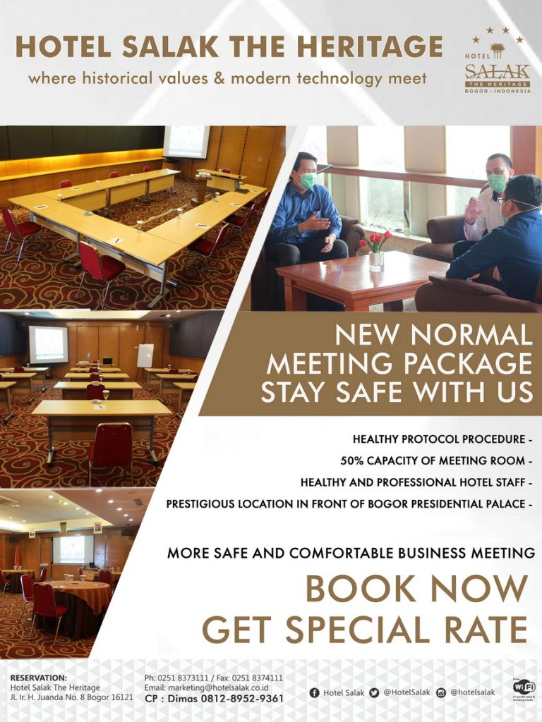 Iklan meeting hotel salak